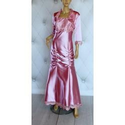 Ekskluzywna suknia wieczorowa koronka