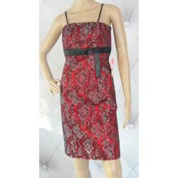 Dresowa sukienka, logo Elisabetta Franchi, luxury, S