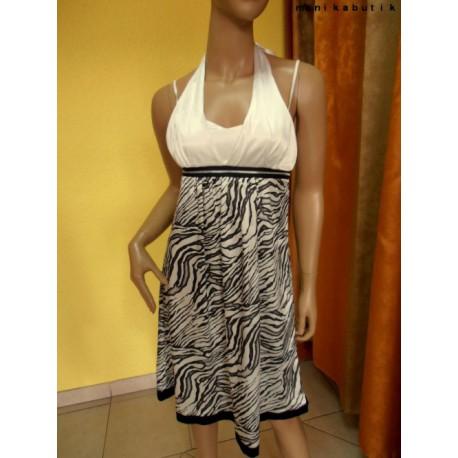 Beżowa, dresowa sukienka, złote ćwieki, S-XL, luxury